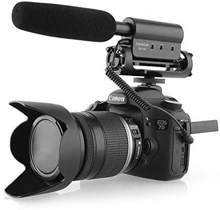 عکس دوربین فیلم برداری مخصوص مصاحبه دارای میکروفن MIC برای دوربین نیکون کانن DSLR (نیاز به رابط 3.5 میلی متری) SGC-598 Photography Interview Shotgun TAKSTAR SGC-598 Photography Interview Shotgun MIC Microphone for Nikon Canon DSLR Camera (Need 3.5mm Interface) دوربین-فیلم-برداری-مخصوص-مصاحبه-دارای-میکروفن-mic-برای-دوربین-نیکون-کانن-dslr-نیاز-به-رابط-35-میلی-متری-sgc-598-photography-interview-shotgun