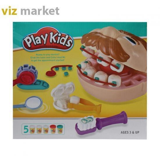 تصویر بازی آموزشی دندانپزشکی مدل playkids