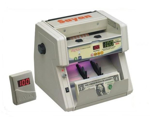 main images دستگاه اسکناس شمار سایان مدل ایکس ۲۲ Sayan X22 Money Counter