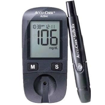 تست قند خون آکیو چک مدل Active | Accu Chek Active Blood glucose monitor