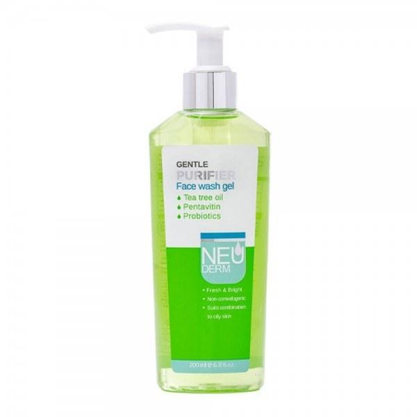 تصویر ژل شستشوی صورت مناسب پوستهای چرب نئودرم ا Gentle Purifier Face Wash Gel Gentle Purifier Face Wash Gel