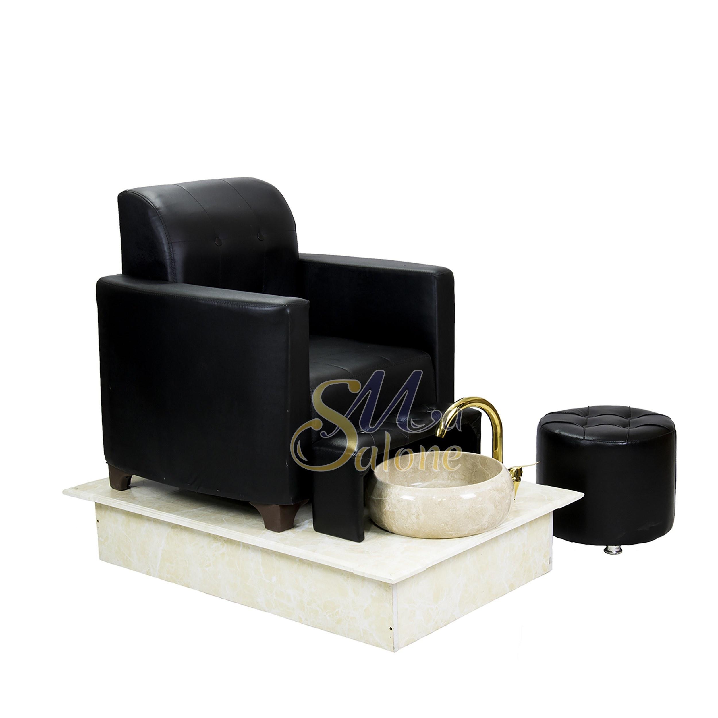 تصویر صندلی پدیکور سالن صنعت مدل کژال Pedicure chair of Kajal model industry salon