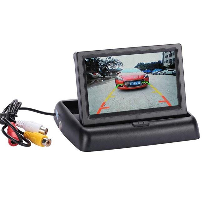 تصویر مانیتور تاشو 4.3 اینچی خودرو Car Monitor Folding Car Monitor 4.3 Inch Folding