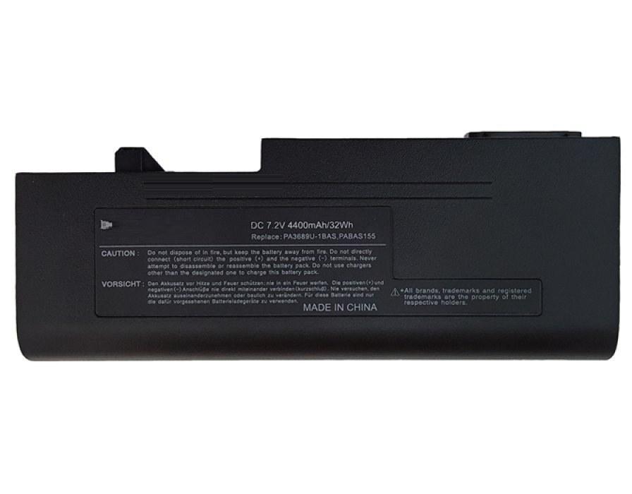 تصویر باتری لپ تاپ توشیبا مدل PA3689U
