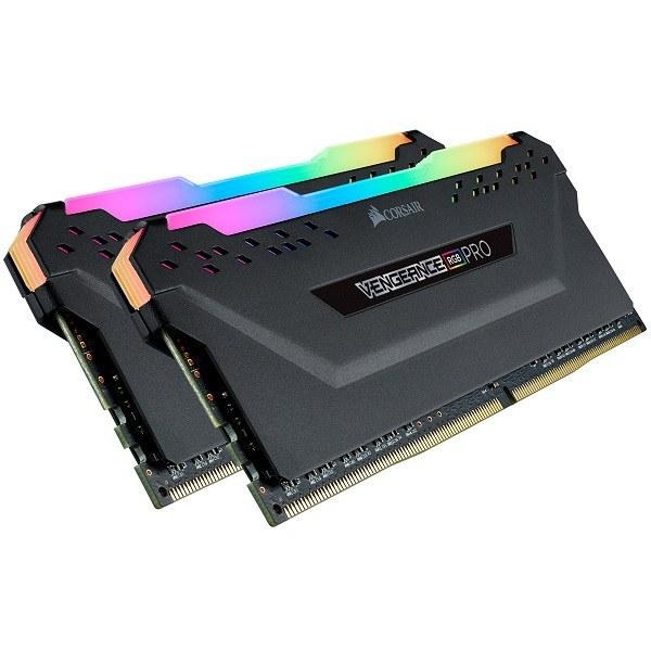 حافظه رم کامپیوتر کورسیر Vengeance LPX DDR4 32GB 3200 CL16RGB Dual Channel   دو کاناله با ظرفیت 32 گیگابایت Corsair Desktop RAM