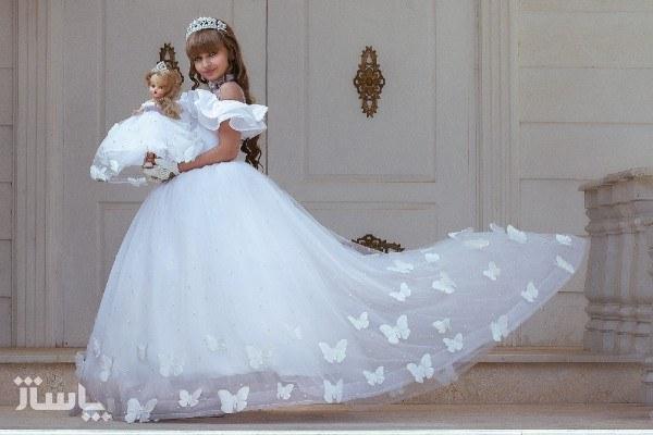 تصویر لباس عروس دخترانه