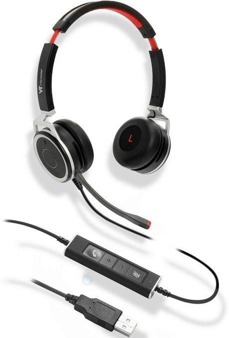 تصویر VT Headset VTX200 UNC DUO USB وی تی قیمت   به شرط خرید تیمی
