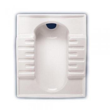 تصویر توالت زمینی مروارید مدل نگین