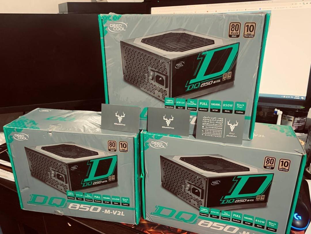 تصویر پاور 850 وات Deepcool مدل DQ850-M-V2L