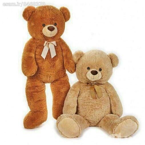 عروسک خرس نشسته خیلی بزرگ | کیفیت اروپایی/ 100سانتیمتر