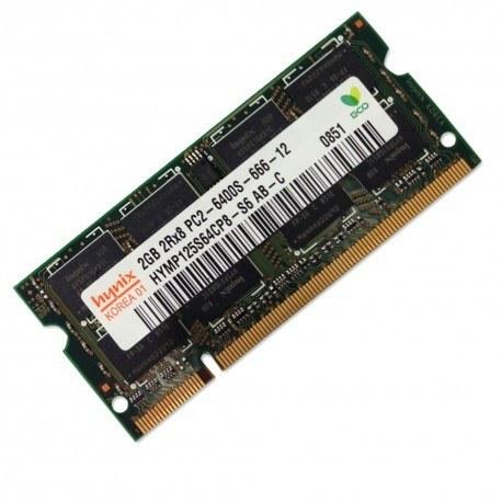 رم لپ تاپ 2 گیگابایت باس 6400(800) / 2GB DDR2 6400 (800) RAM For Laptop