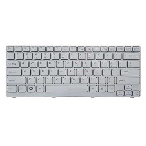 main images کیبرد لپ تاپ سونی VGN-CR نقره ای Keyboard Laptop Sony VGN-CR