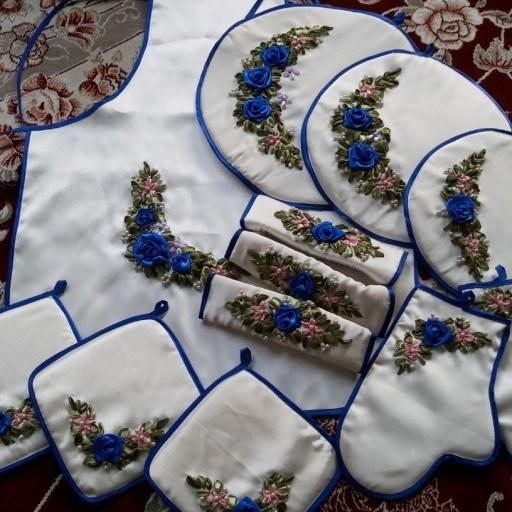 عکس ست کامل سرویس رومان دوزی آشپز خانه  ست-کامل-سرویس-رومان-دوزی-اشپز-خانه