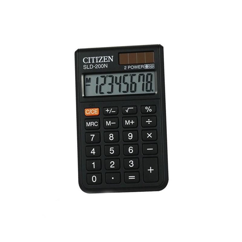 تصویر ماشین حساب مدل SLD-200N سیتیزن Citizen SLD-200N Calculator