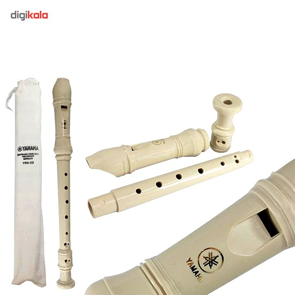 img فلوت ریکوردر یاماها مدل YRS 23 Yamaha YRS-23 Flute Recorder