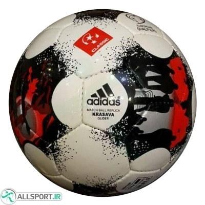 توپ فوتبال آدیداس سفید مشکی Adidas