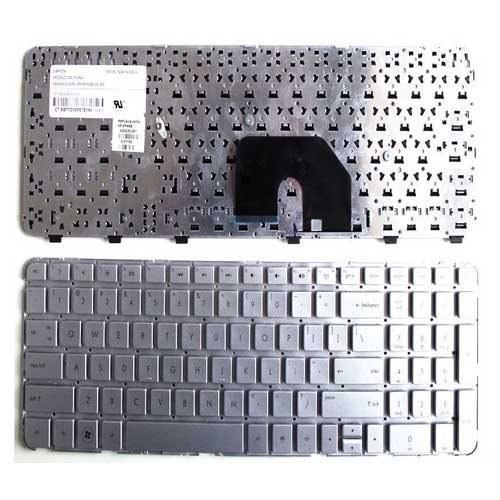 تصویر Keyboard HP DV6-6000 Silver صفحه کلید لپ تاپ اچ پی DV6-6000
