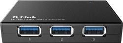 تصویر هاب USB 3.0 چهار پورت دی-لینک مدل DUB-1340 D-Link DUB-1340 Four Port USB 3.0 Hub