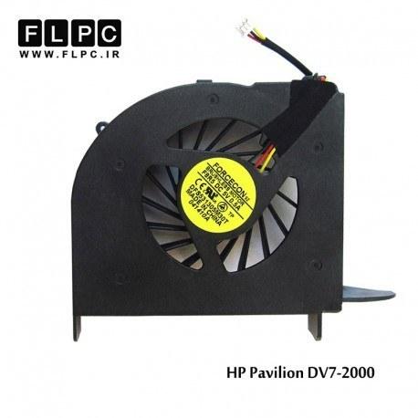 تصویر فن لپ تاپ اچ پی DV7-2000 یک خروجی هوا HP Pavilion DV7-2000 Laptop CPU Fan