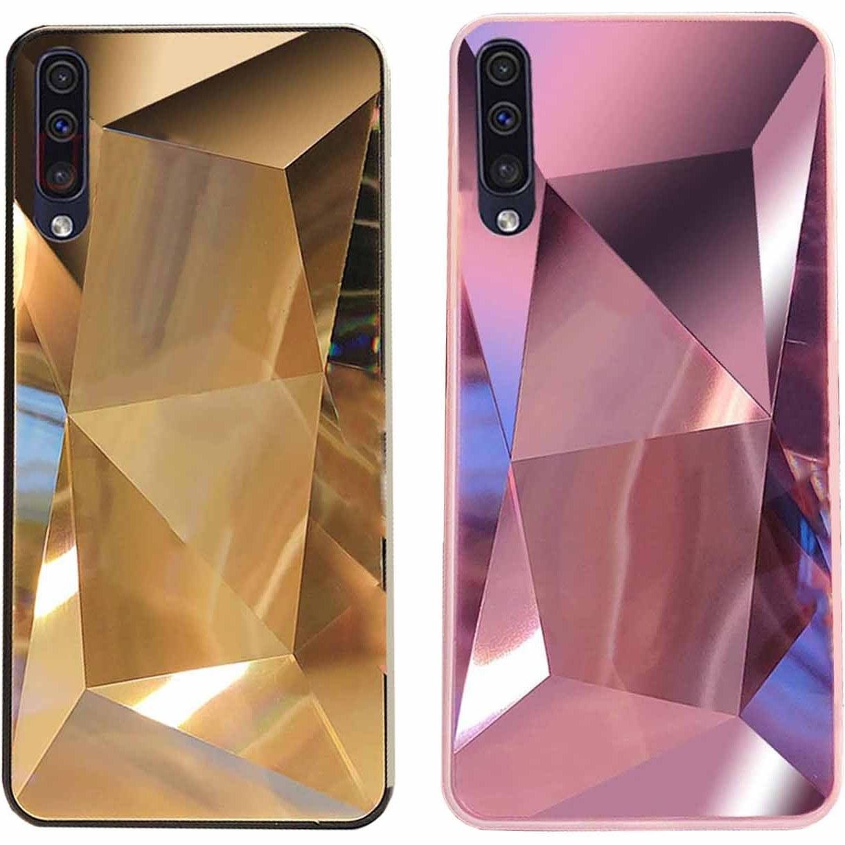 قاب الماسی براق سامسونگ Luxury Diamond Glass Case | Galaxy A70 |