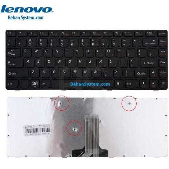 تصویر کیبورد لپ تاپ LENOVO IdeaPad Z480