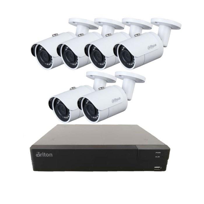 پک شش کاناله FullHD دوربین مداربسته UVR508SMT