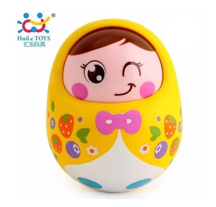 تصویر Hola 979 Baby Toys عروسک رولی پولی هالی تویز با چهره شاد