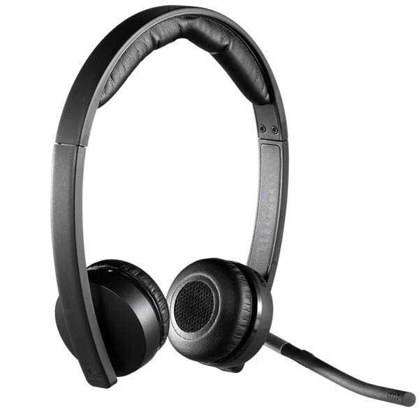 تصویر هدفون بی سیم لاجیتک مدل Dual H820E Logitech Dual H820E Headset