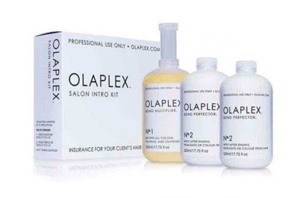 تصویر اولاپلکس تقویت کننده مو در زمان دکلره و رنگ مو – OLAPLEX