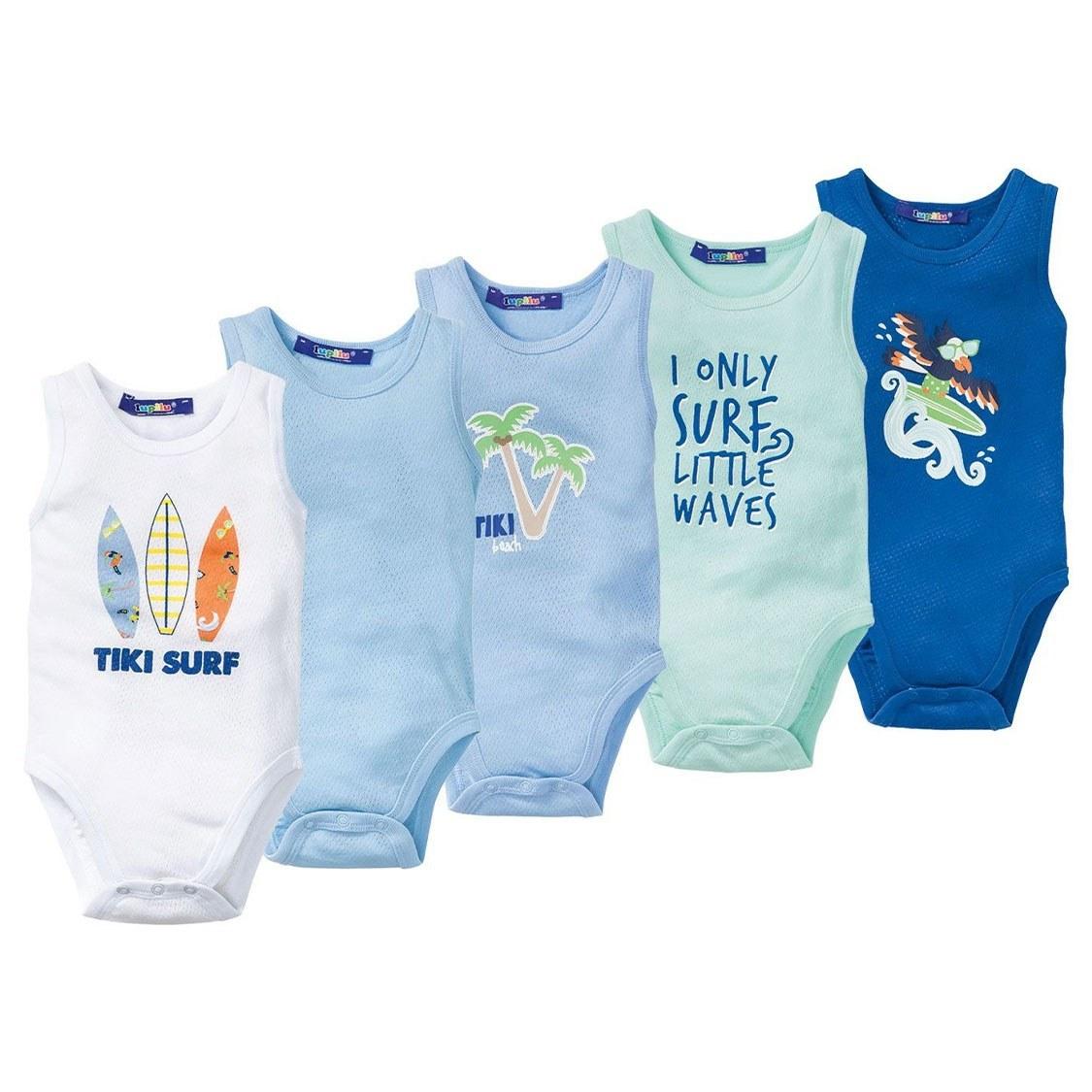 بادی نوزادی پسرانه بسته 5 عددی لوپیلو کد 28477