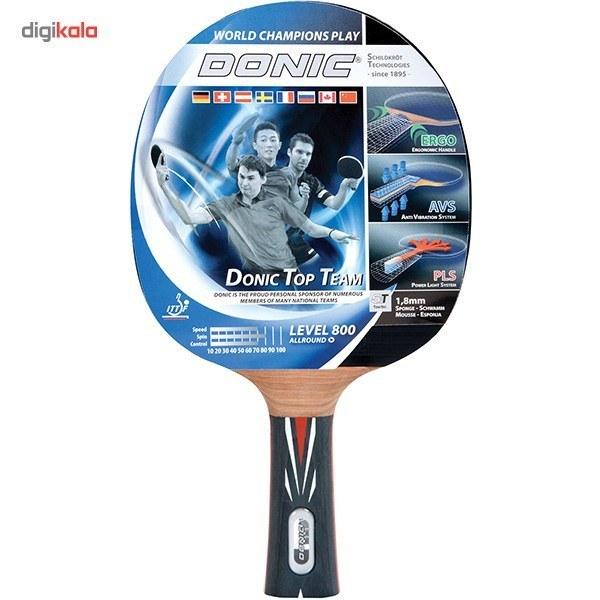 تصویر راکت پینگ پنگ دونیک مدل Waldner Line Level 800 کد 754881 ا Donic Waldner Line Level 800 754881 Ping Pong Racket Donic Waldner Line Level 800 754881 Ping Pong Racket