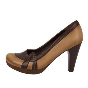 کفش چرم پاشنه دار  زنانه آریوان مدل ARZ504KH | Arivan ARZ504KH  High-heeled  Shoe For Women