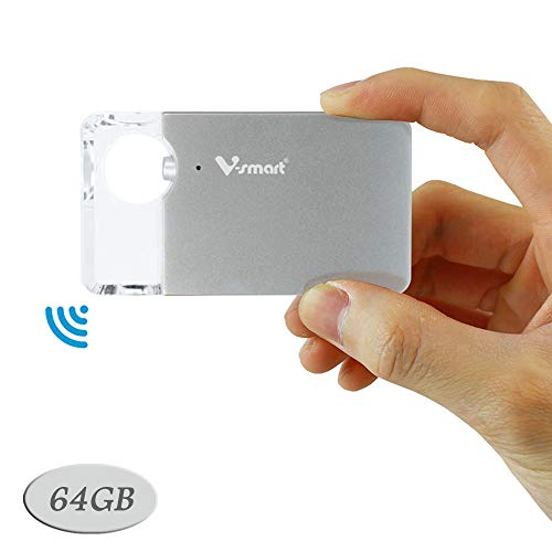 تصویر دیسک درایو فلش بی سیم CrystalDisk | سرعت فوق العاده سریع 5G Wi-Fi ، درایو حافظه خارجی جهانی برای گوشی های هوشمند ، تبلت ، رایانه | V-smart FD100 (256 گیگابایت ، فلزی آبی) ا V-Smart CrystalDisk 5G Wireless Transmission USB Flash Drive | Super-Fast Speed, Universal External Storage Drive for iPhone, Android, Tablets, Computers | (64GB, Silver) V-Smart CrystalDisk 5G Wireless Transmission USB Flash Drive | Super-Fast Speed, Universal External Storage Drive for iPhone, Android, Tablets, Computers | (64GB, Silver)