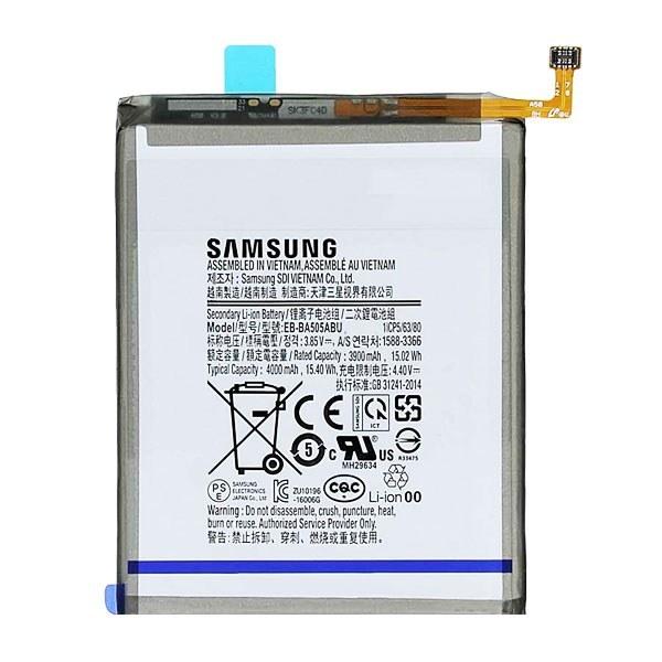 تصویر باتری اورجینال سامسونگ EB-BA505ABU ظرفیت 4000 میلی آمپر ساعت Samsung EB-BA505ABU 4000mAh Original Battery