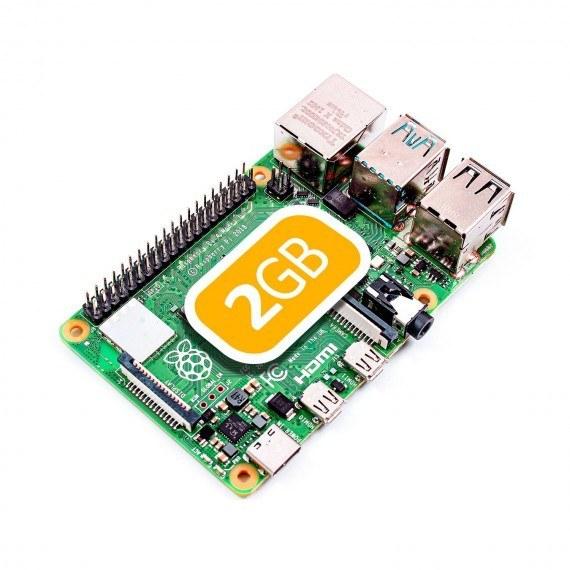 برد رسپبری پای 4 تولید انگلیس 2 گیگ رم Raspberry Pi 4