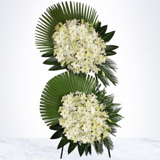 تصویر تاج گل دو طبقه پردیس
