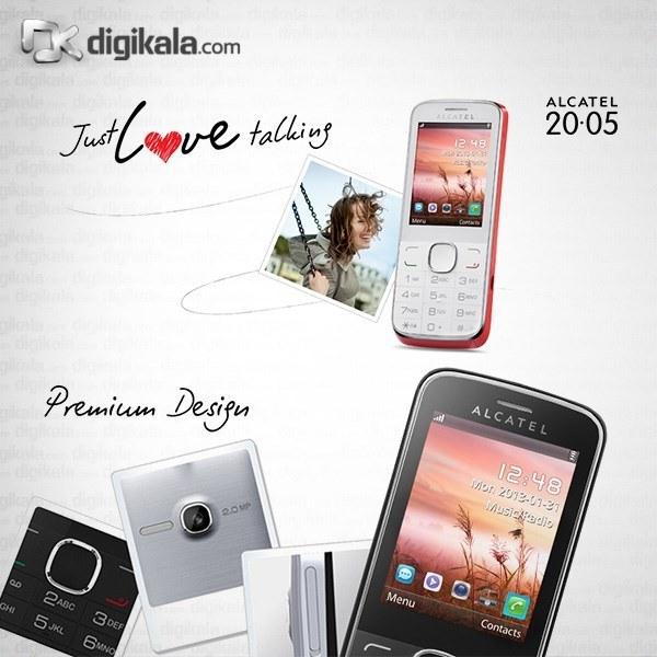 img گوشی آلکاتل وان تاچ 2005D | ظرفیت 128 مگابایت Alcatel One Touch 2005D | 128MB