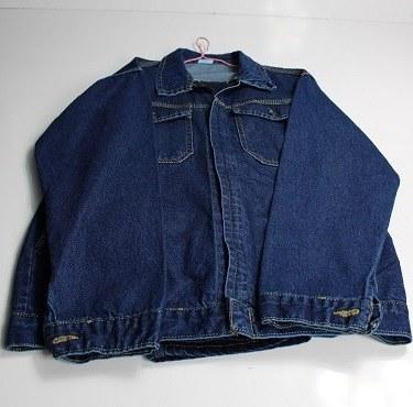 تصویر لباس کار لی دو تکه زیب دار سایز XL