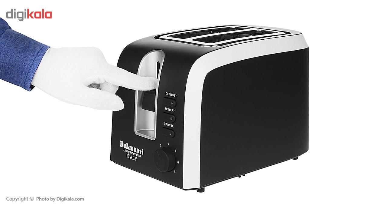 img توستر نان دلمونتی مدل DL570 Delmonti DL570 Bread Toaster