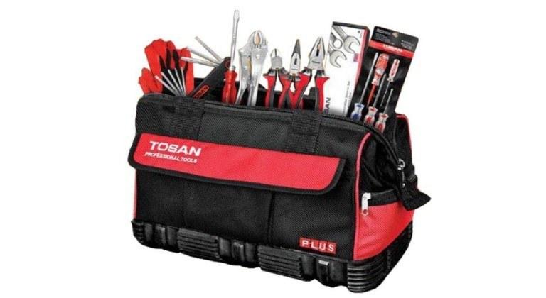 تصویر کیت ابزار ماشین توسن مدل 25M-21C ا TOSAN 25M-21C Tools Set 21PCS TOSAN 25M-21C Tools Set 21PCS
