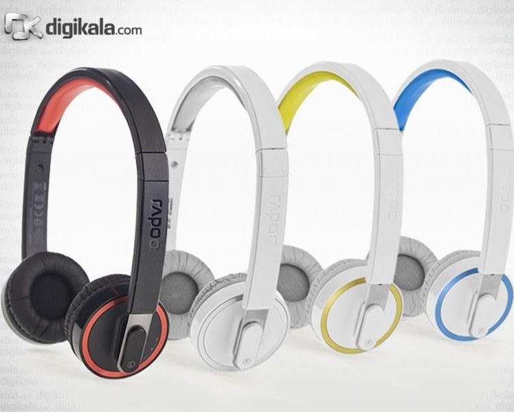img هدست بي سيم فشن رپو H3080 Rapoo Fashion BT H3080 Headset