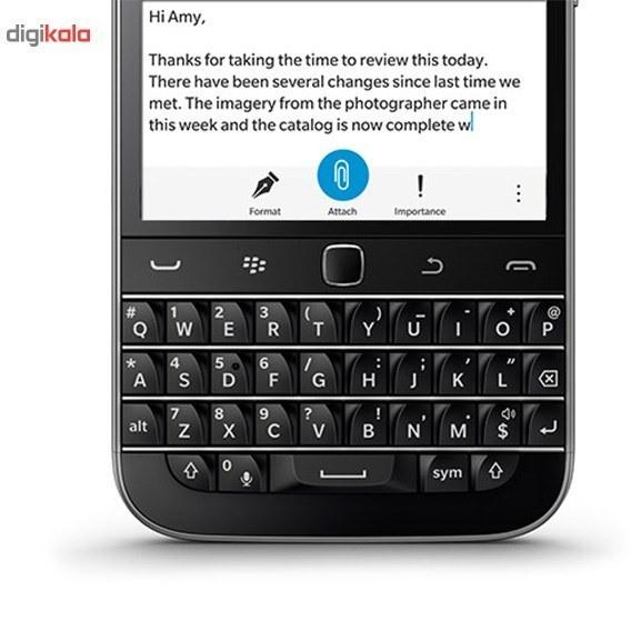عکس گوشی بلک بری (Classic (Q20 | ظرفیت 16 گیگابایت BlackBerry Classic (Q20) | 16GB گوشی-بلک-بری-classic-q20-ظرفیت-16-گیگابایت 8