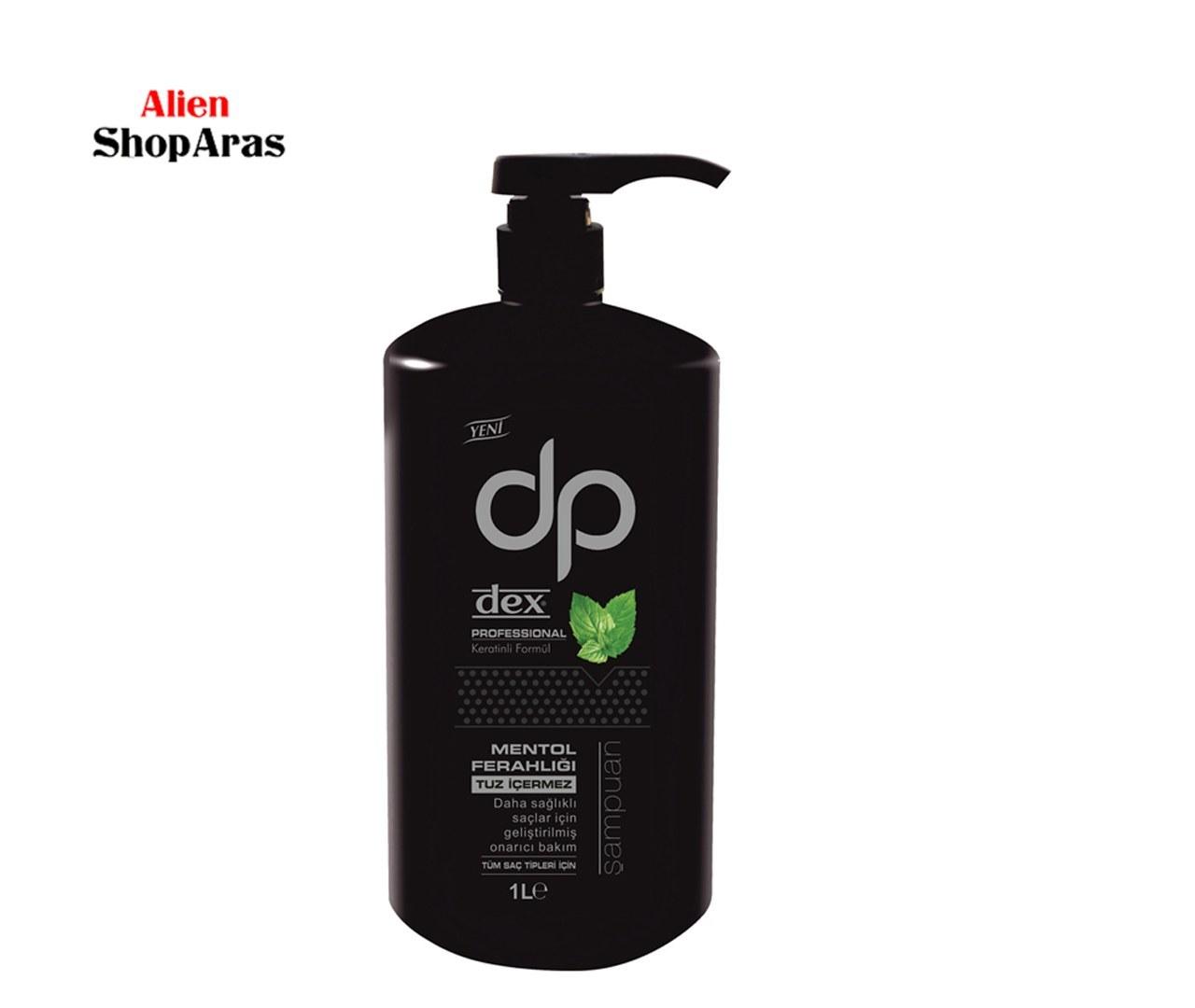 عکس شامپو دکس مدل نعنا ظرفیت ۱۰۰۰ میلی لیتر Dex Professional Şampuan Mentol Ferahlığı 1000 ml شامپو-دکس-مدل-نعنا-ظرفیت-1000-میلی-لیتر