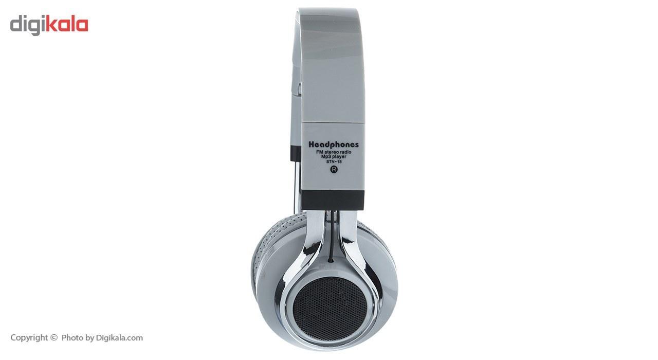 img هدفون بی سیم مدل STN-18 STN-18 Wireless Headphones