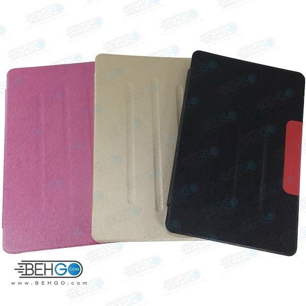 تصویر کیف T505 قاب تبلت سامسونگ A7 کیف کلاسوری فولیو کاور T505 مناسب تبلت Stand Back Cover Case Samsung Galaxy Tab A7 10.4 T505