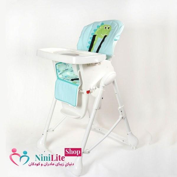 تصویر صندلی غذاخوری نوزاد (zooye baby) مدل طرحدار ا zooye baby feeding chair zooye baby feeding chair