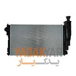 رادیاتور آب دولول پژو 405 GLX 1800 کوشش رادیاتور