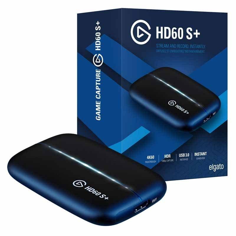 تصویر کارت کپچر گیمینگ الگاتو +HD60 S elgato HD60 S+ HDMI to HDMI Gaming Capture Card