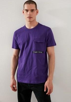 تصویر خرید ارزان تی شرت فانتزی مردانه مارک ترندیول مرد رنگ بنفش کد ty96069053