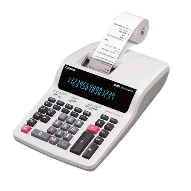 تصویر ماشین حساب کاسیو مدل DR-140TM Casio DR-140TM Calculator